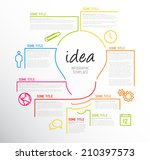 Vector Idea Infographic...