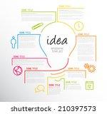 Vector Idea Infographic...
