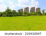 on the suburban of modern... | Shutterstock . vector #210410047