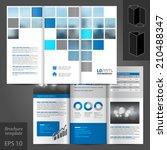 white business vector brochure... | Shutterstock .eps vector #210488347