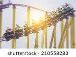 roller coaster   Shutterstock . vector #210558283