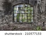 The  Window In An Abandoned ...