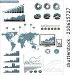 detail infographic vector... | Shutterstock .eps vector #210615727