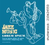 ������, ������: Jazz music players with