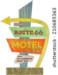 Retro Route Sixty Six Motel...