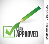 load approved check mark... | Shutterstock . vector #210703657
