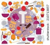 restaurant.   Shutterstock .eps vector #210713857