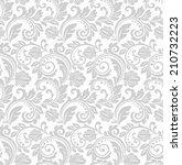 floral pattern. wallpaper... | Shutterstock . vector #210732223