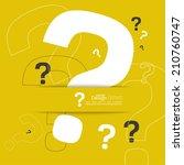 question mark icon. help symbol.... | Shutterstock .eps vector #210760747