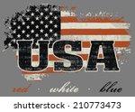 made usa | Shutterstock .eps vector #210773473
