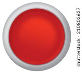 red shiny button vector design... | Shutterstock .eps vector #210802627
