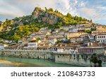 View at old city of Berat - Albania