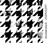 Painted Houndstooth Pattern