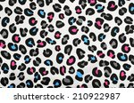 colorful blue  pink  grey... | Shutterstock . vector #210922987