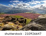 view from hathersage moor in... | Shutterstock . vector #210926647