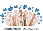 thumbs up symbol. | Shutterstock . vector #210960247