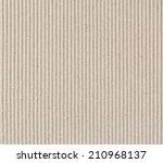 corrugated fiberboard macro... | Shutterstock . vector #210968137