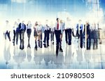 group of business people... | Shutterstock . vector #210980503