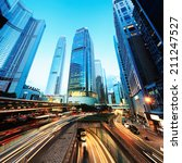 night traffic | Shutterstock . vector #211247527