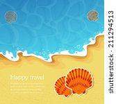 vector summer holidays... | Shutterstock .eps vector #211294513