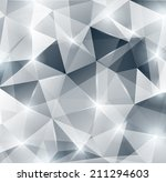 silver background. lights ... | Shutterstock .eps vector #211294603