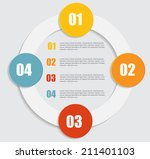 infographic templates for... | Shutterstock .eps vector #211401103