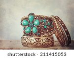 set of the bracelet | Shutterstock . vector #211415053