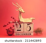 save the date white block... | Shutterstock . vector #211442893