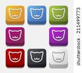 app concept  cat | Shutterstock .eps vector #211499773