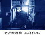 steel mills converter filling... | Shutterstock . vector #211554763