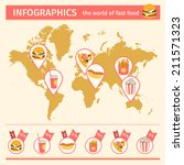 infographic. consumption of... | Shutterstock .eps vector #211571323