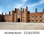 Main Court At Hampton Court...