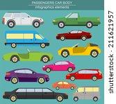passenger car  transportation... | Shutterstock .eps vector #211621957