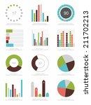 set of infographics elements | Shutterstock .eps vector #211702213