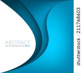 blue background vector for text ... | Shutterstock .eps vector #211768603
