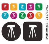 chair icon | Shutterstock .eps vector #211788967