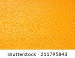 texture of orange color gravel... | Shutterstock . vector #211795843