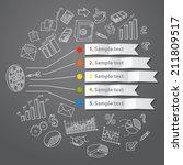 marketing infographic concept... | Shutterstock .eps vector #211809517