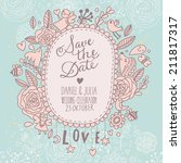 Beautiful Save The Date Card I...