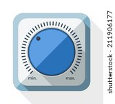 volume knob icon with long...