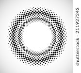 halftone background. vector... | Shutterstock .eps vector #211927243