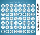 weather icon set for widgets... | Shutterstock . vector #211982677