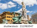Neptune Statue In Piazza Della...