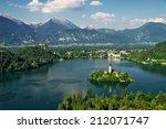 Постер, плакат: Lake Bled Slovenia