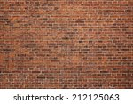 Grunge Red Brick Wall...