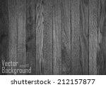 grunge retro vintage wooden... | Shutterstock .eps vector #212157877