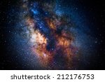 the center of the milky way... | Shutterstock . vector #212176753