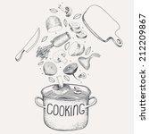 vector illustration of the... | Shutterstock .eps vector #212209867