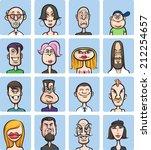 illustration of humor cartoon...   Shutterstock . vector #212254657