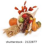 Horn Of Plenty With Autumn...